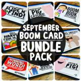 Boom Cards™️ September Bundle Pack