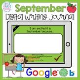 Boom Cards September Writing Journal