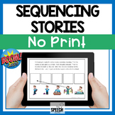Boom Cards Sequencing Stories