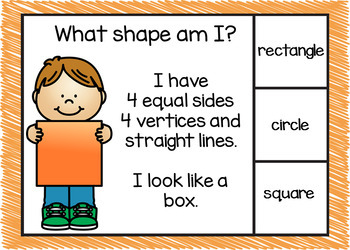 Shape Recognition Boom Cards