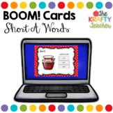 Self Correcting Digital Boom Cards CVC short A words for K