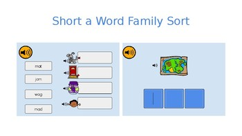 Boom Cards Short A Word Families