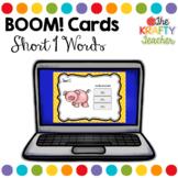 Self Correcting Digital Boom Cards CVC short I words for K