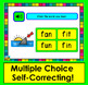 Boom Cards™ Short Vowels cvc :  Multiple Choice -  25 Cards -  with Sound!