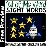 Boom Cards - Digital Sight Word Activities for Kindergarten FREE Preview