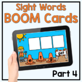 Boom Cards - Sight Word Construction: Fry 1st 100 [part 4]