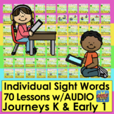 Boom Cards Sight Word Practice 70 Digital LESSONS K & Earl
