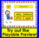 Boom Cards™ Sight Words Assessment 6: Multiple Choice: First Grade Dolch 113-133