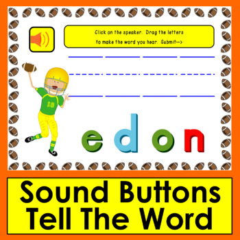 Boom Cards™ Sight Words Unscramble ● Dolch Third Grade Words 201-220-Football