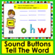 Boom Cards™ Sight Words Unscramble - Dolch Words 67 - 92 Primer - With Sound!