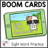 Boom Cards Sight Words in Sentences