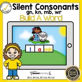 Boom Cards Silent Consonants Build a Word