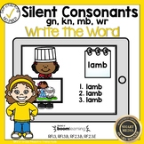 Boom Cards Silent Consonants Write the Word