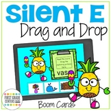 Boom Cards Silent E Drag and Drop