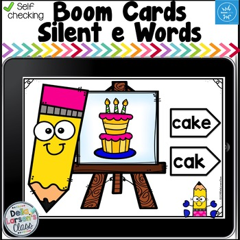 Boom Cards Silent e Distance Learning