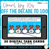 Boom Cards™ Skip Counting by 10s off the Decade to 100 - Distance Learning