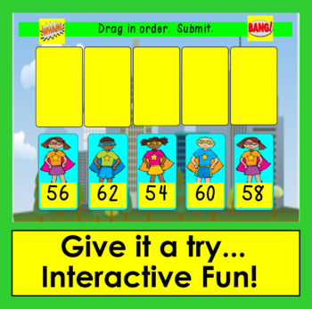 Boom Cards Math Skip Counting by 2 - Super Hero Theme - Digital Interactive