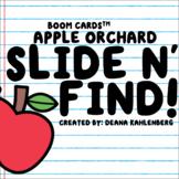 Boom Cards™️ Slide N' Find!- Apple Orchard