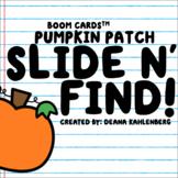 Boom Cards™️ Slide N' Find!- Pumpkin Patch