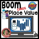 Boom Cards Snowman Place Value