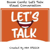Boom Cards: Social Skills- Let's Talk: Visual Conversation