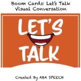 Boom Cards: Social Skills- Let's Talk: Visual Conversation