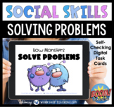 Boom Cards Social Story 11 How Monsters Solve Problems SEL Distance Learning