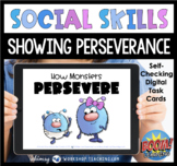 Boom Cards Social Story 13 How Monsters Persevere SEL Distance Learning