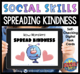 Boom Cards Social Story 7 How Monsters Spread Kindness SEL Distance Learning