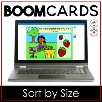 Boom Cards | Sort by Size