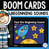 Boom Cards™ Space Beginning Sounds DISTANCE LEARNING | Dig