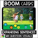 EXPANDING SENTENCES Spring Boom Cards™ Speech Therapy