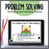 Boom Cards™ Speech Therapy Problem Solving Scenarios