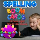 BOOM Cards Spelling Practice, Kindergarten 52 Basic Sight