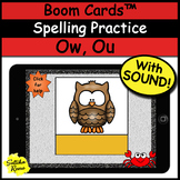 Boom Cards Spelling Practice Ou, Ow