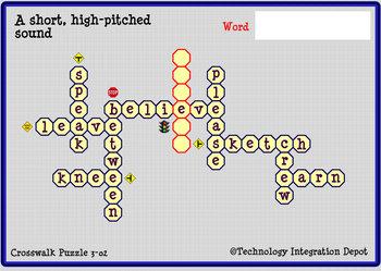 """Boom Cards™ Spelling & Vocabulary 3-02:  """"E"""" Sounds"""
