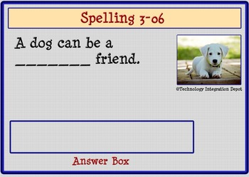 "Boom Cards™ Spelling & Vocabulary 3-06: ""OI-OY"" Sounds"