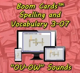 "Boom Cards™ Spelling & Vocabulary 3-07: ""OU-OY"" Sounds"