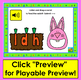 Boom Cards™ Spring: Alphabet Lowercase Letter Recognition With Sound