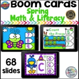 Boom Cards Spring Counting and Alphabet BUNDLE