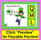 Boom Cards™ St. Patrick's Day Alphabet Capital Letter Recognition