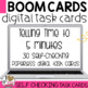 Boom Cards St. Patrick's Day Telling Time to 5 minutes