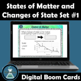 States of Matter and Changes of State NGSS Boom Cards™ Digital Task Cards