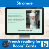 Boom Cards™ - Stromae reading for French learners