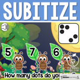 Boom Cards™ Subitize Numbers 1-10