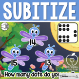 Boom Cards™ Subitize Numbers 11-20