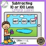 Boom Cards Subtraction 10 Less 100 Less