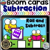 Boom Cards Subtraction - Roll the Dice