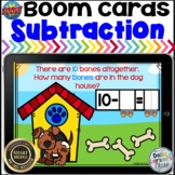 Boom Cards Subtraction Word Problems