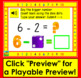 Boom Cards Subtraction to 10: Strategy:  Counting Back Using Dice Dots